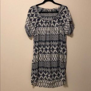 ROXY Blue Patterned Dress